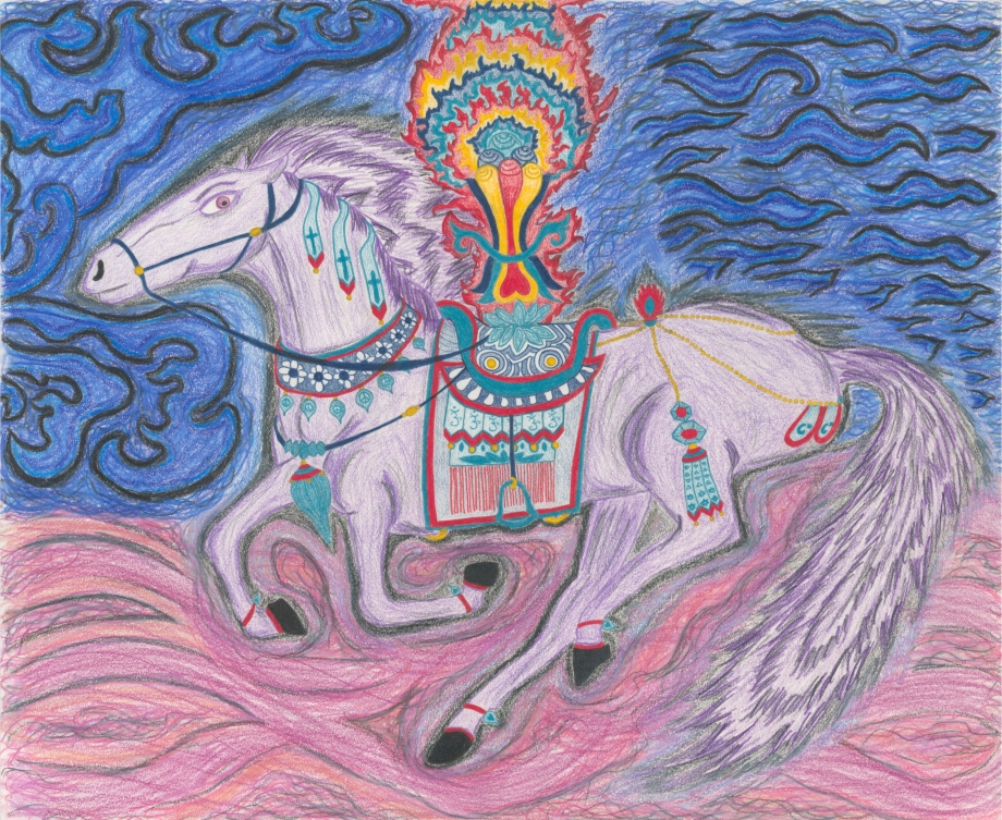 Riding Windhorse